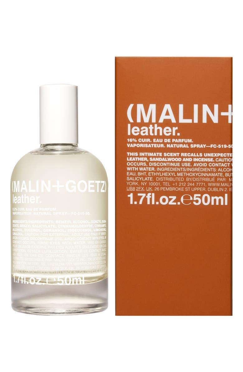 MALIN+GOETZ Leather Eau de Parfum, Main, color, NO COLOR