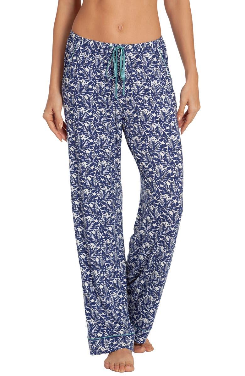 IN BLOOM BY JONQUIL Kauai Print Pajama Pants, Main, color, 400