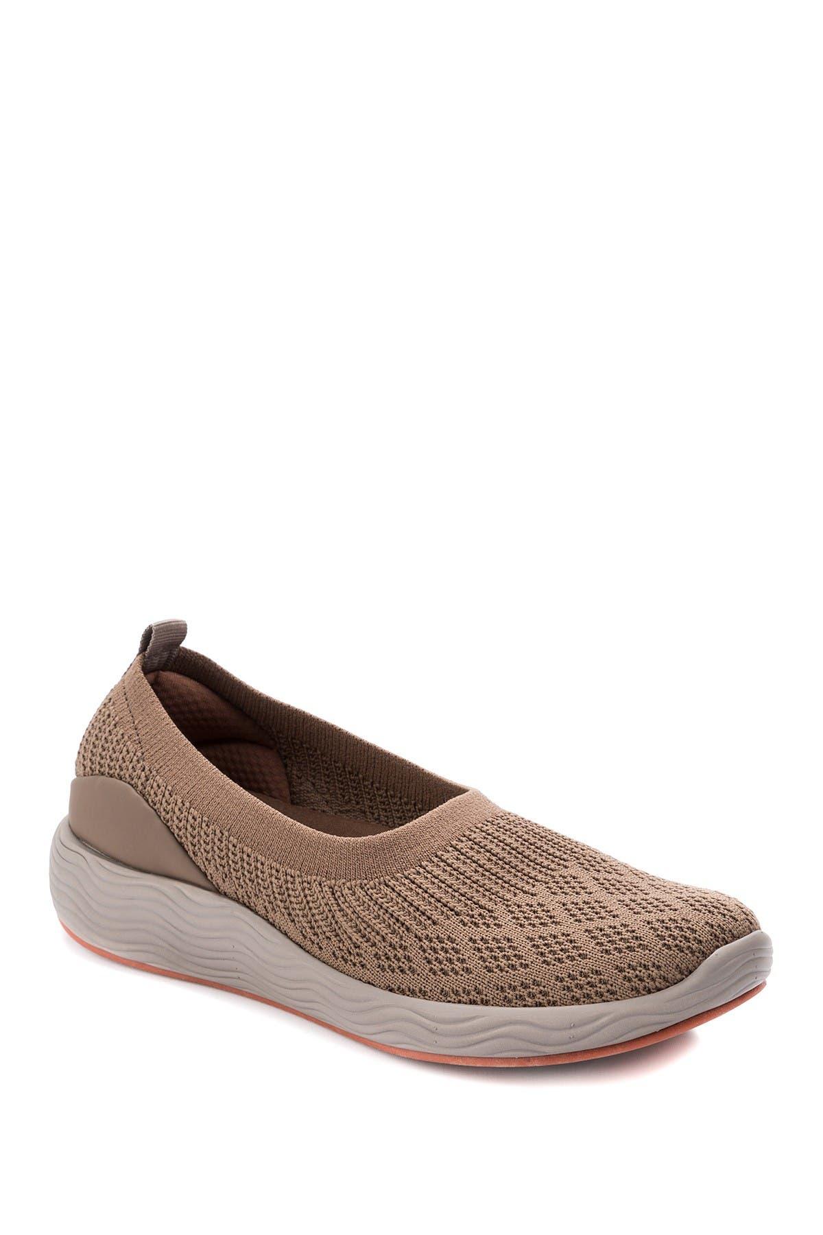 Image of BareTraps Leila Knit Slip-On Sneaker