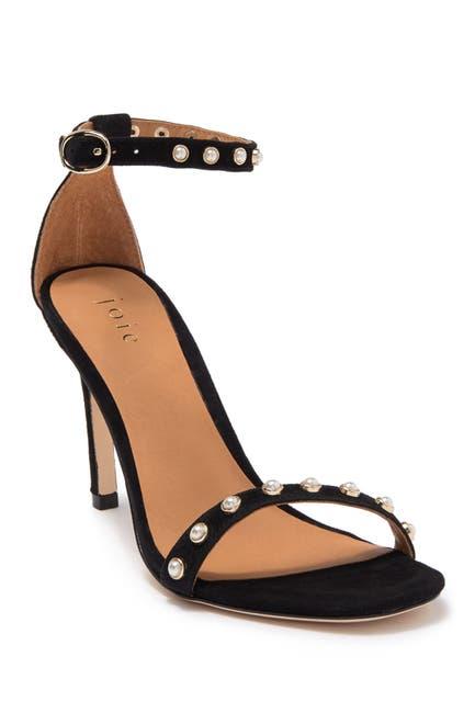 Image of Joie Alana Imitation Pearl Studded Stiletto Sandal