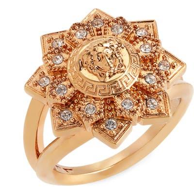 Versace Medusa Bloom Ring