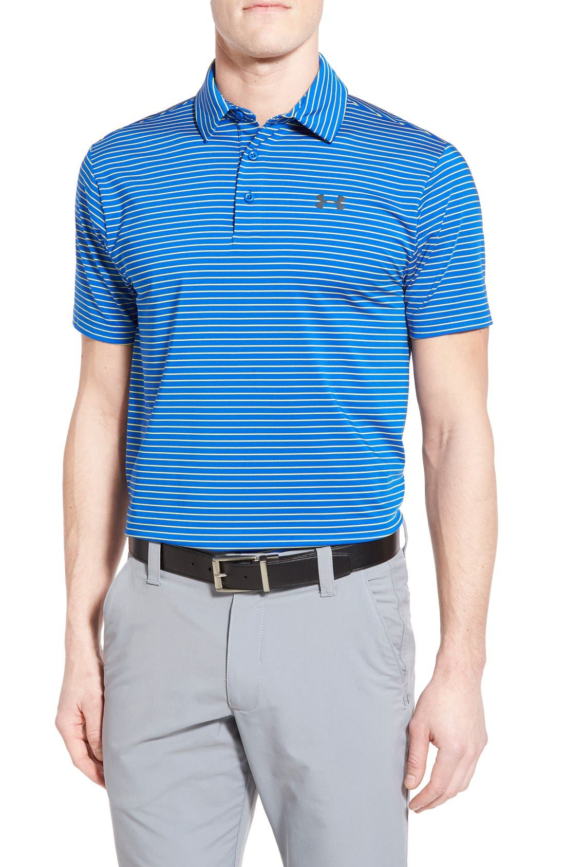 ,                             'Playoff' Loose Fit Short Sleeve Polo,                             Main thumbnail 199, color,                             405
