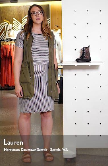 Polly Quinn Glitter Combat Boot, sales video thumbnail