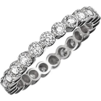 Sethi Couture Bezel Set Diamond Stacking Ring