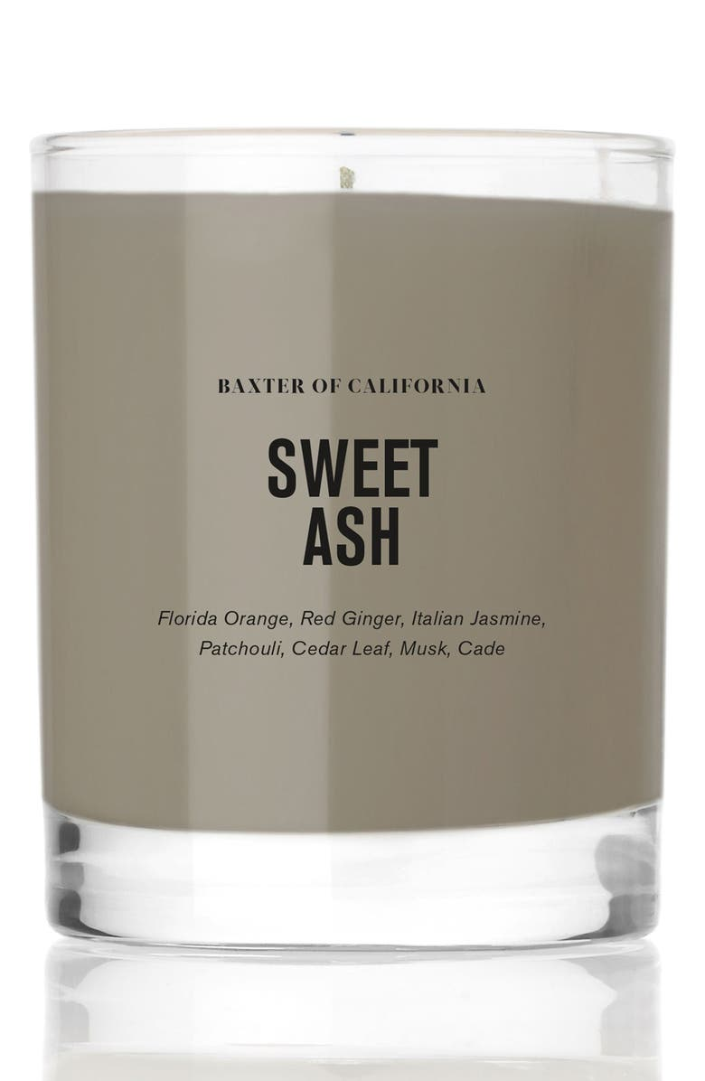 BAXTER OF CALIFORNIA Sweet Ash Candle, Main, color, NO COLOR