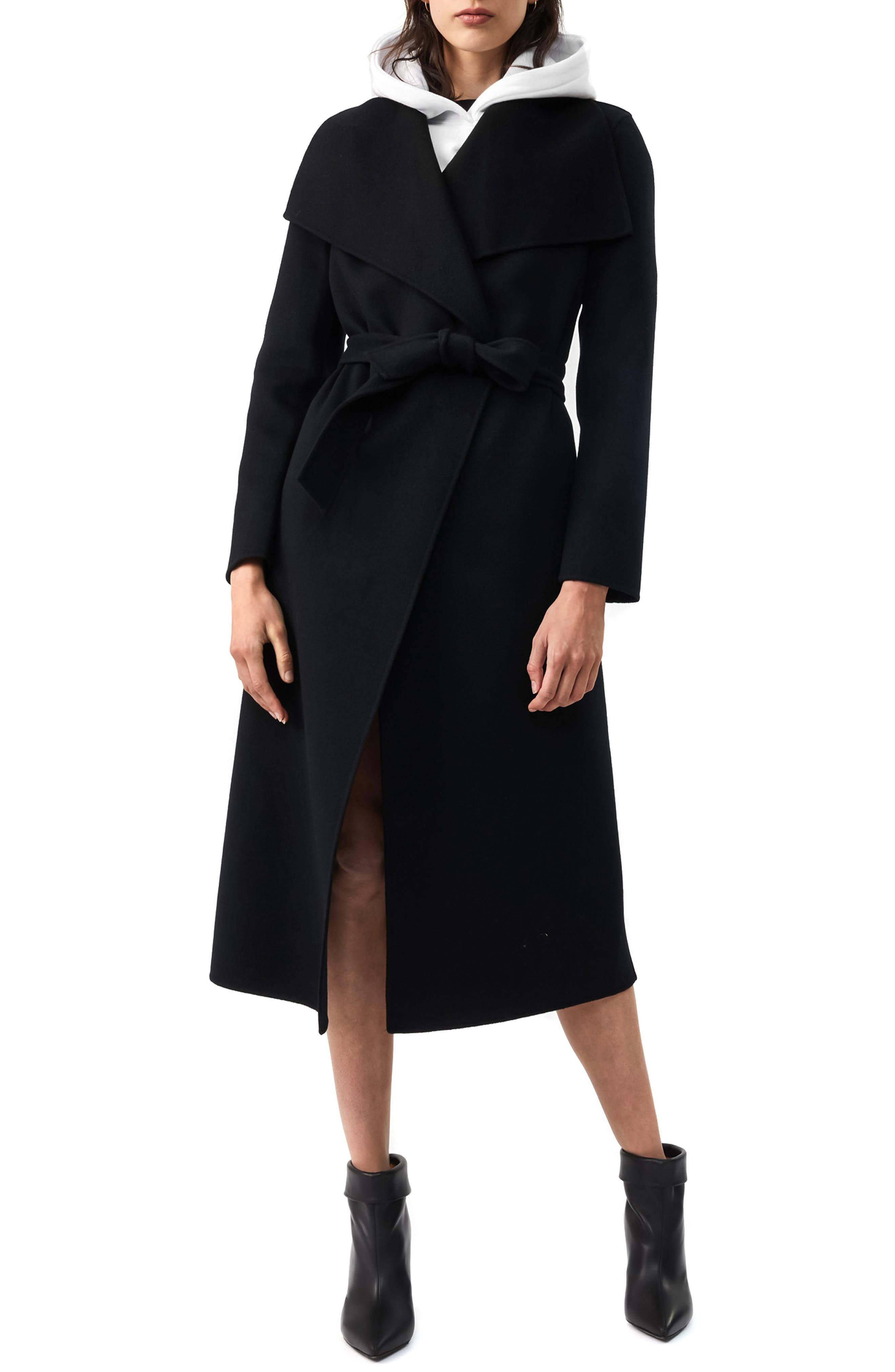 Mackage Mai-R Wool Wrap Coat