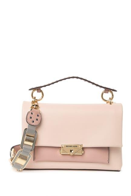 Image of MICHAEL Michael Kors Cece Leather Shoulder Bag