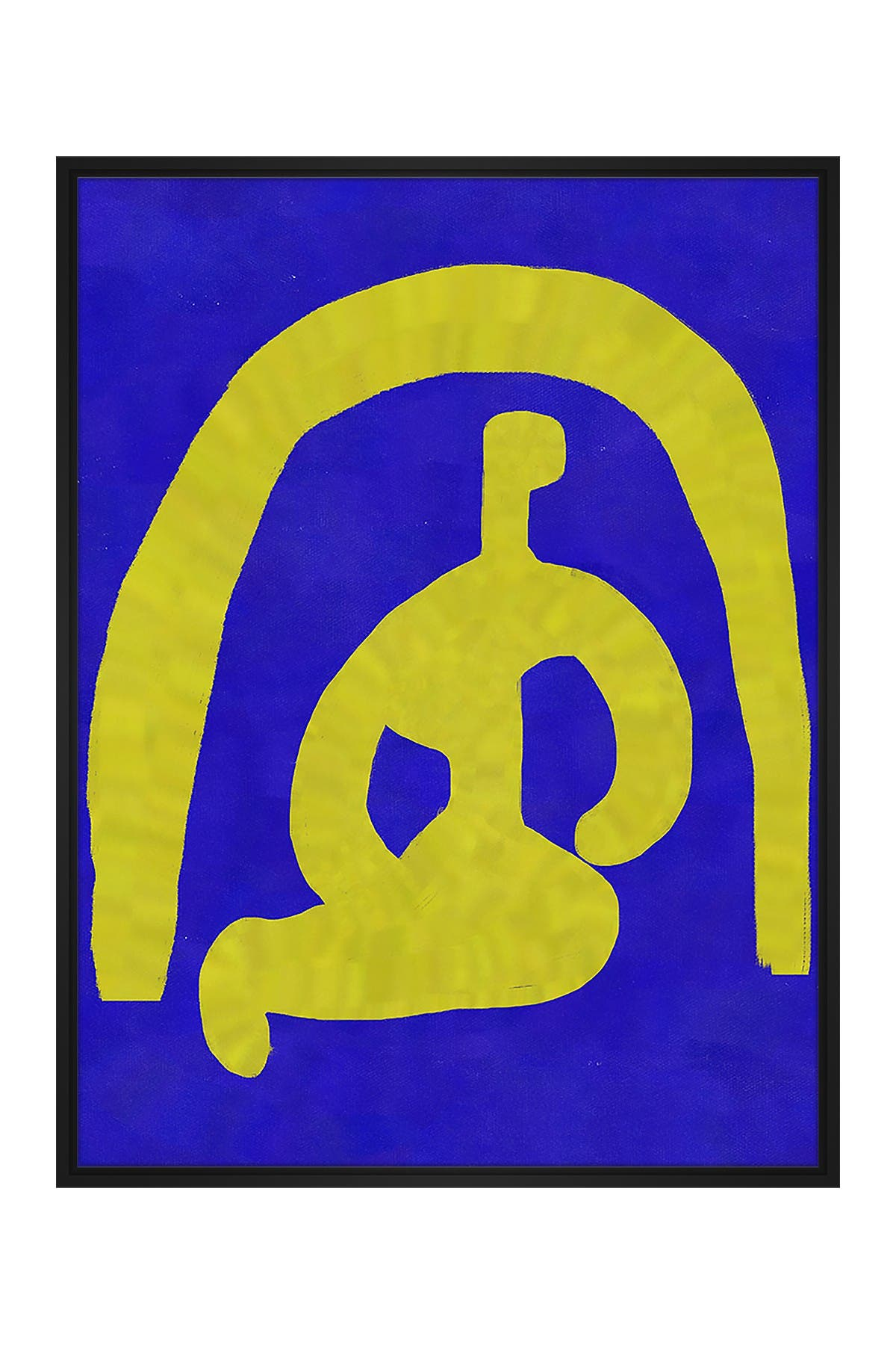 Image of PTM Images Bold Abstract Small XLVIII Floater Framed Canvas