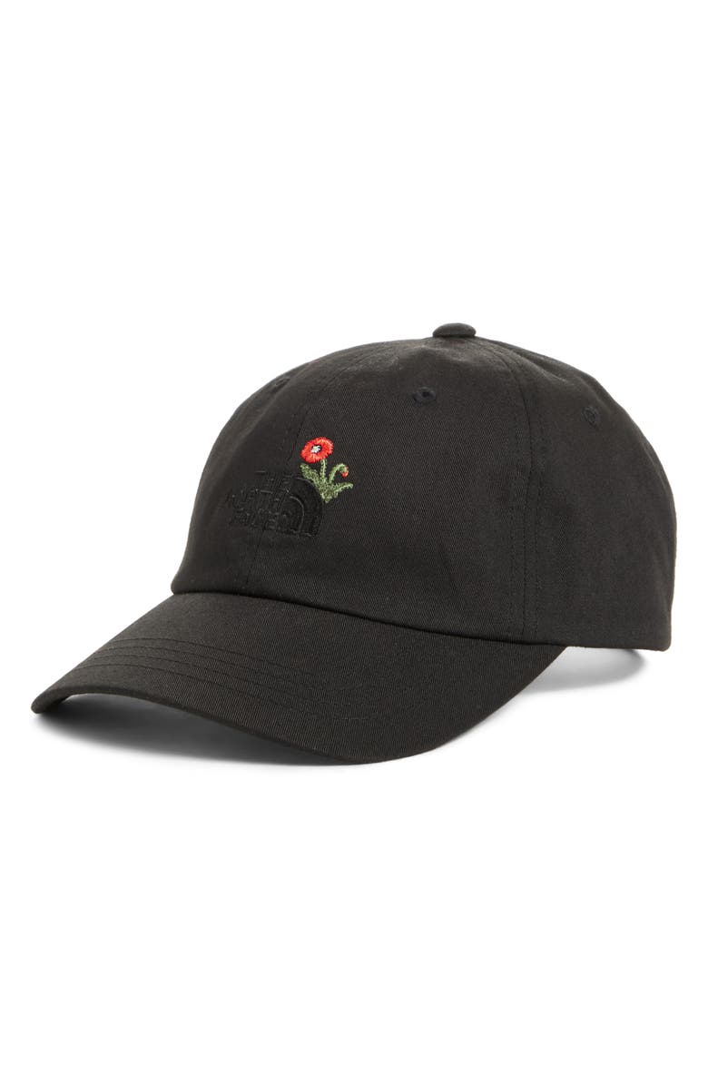 a7b6e81c The North Face Norm Poppy Embroidered Adjustable Cap | Nordstrom