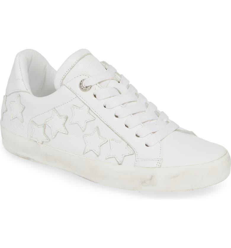 ZADIG & VOLTAIRE Stars Sneaker, Main, color, BLANC