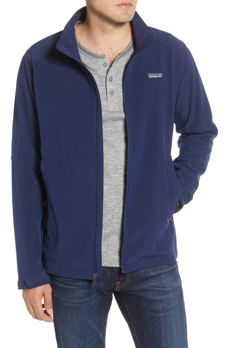 PATAGONIA Adze Water Repellent Jacket, Main, color, CLASSIC NAVY
