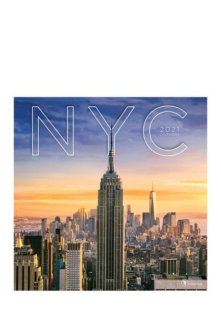 Image of TF Publishing 2021 NYC Wall Calendar