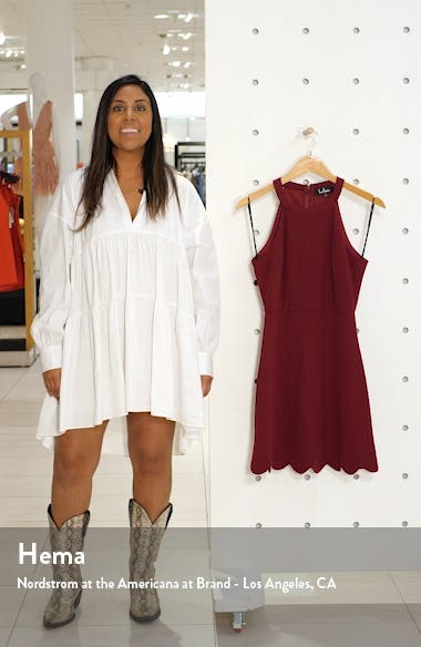 Mamacita Halter Minidress, sales video thumbnail