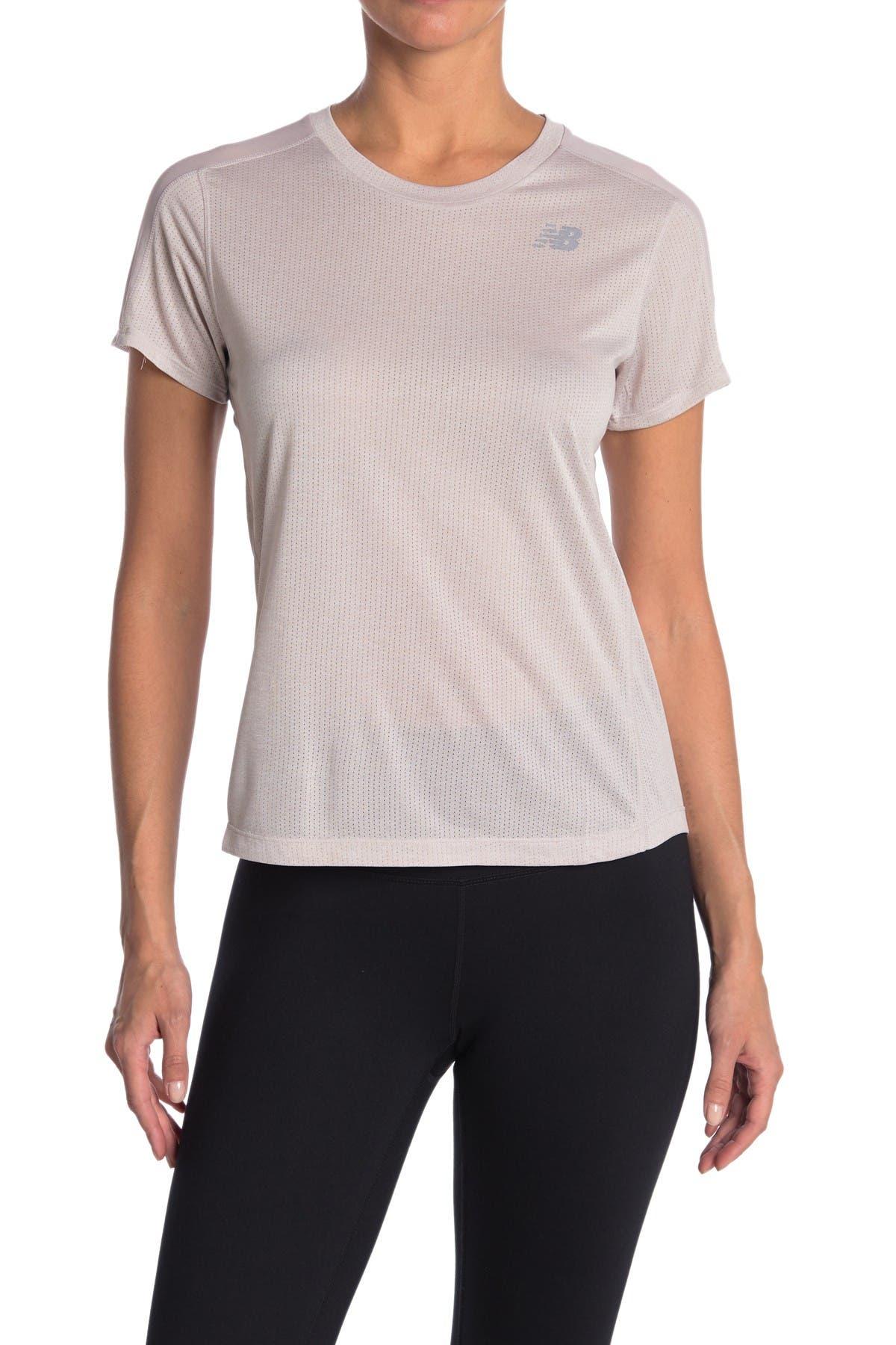 Image of New Balance Impact Short Sleeve Running T-Shirt