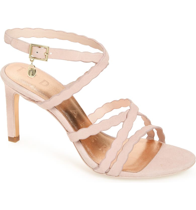 TED BAKER LONDON Lillys Sandal, Main, color, NUDE/ PINK