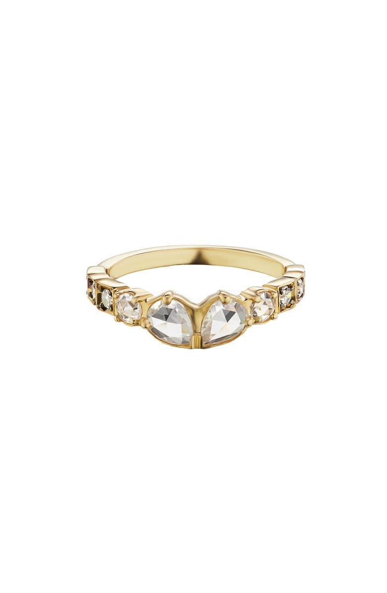 MANIAMANIA Petit Sacred Band Ring, Main, color, YELLOW GOLD/ DIAMOND