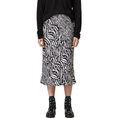 Allsaints Rayne Remix Skirt, White