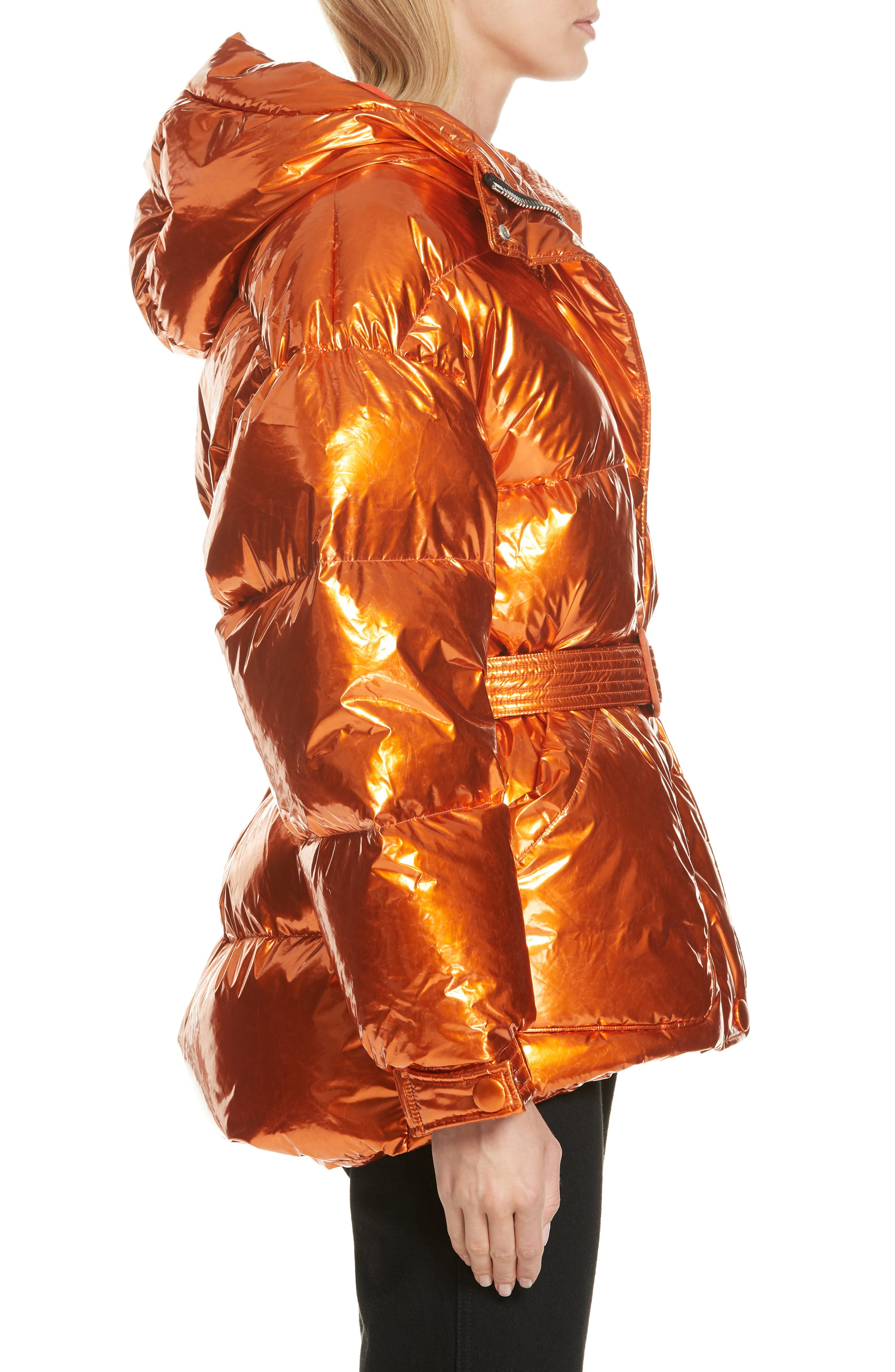 ,                             Michelin Hooded Down Puffer Coat,                             Alternate thumbnail 24, color,                             800