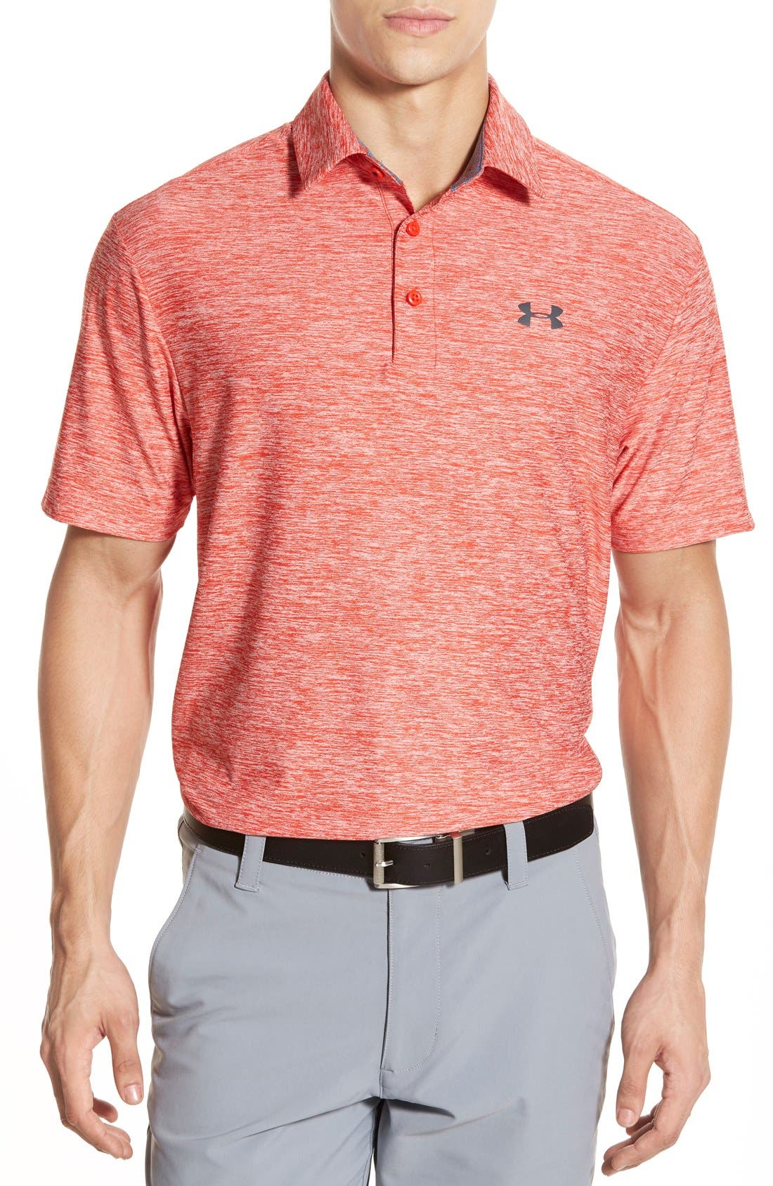 ,                             'Playoff' Loose Fit Short Sleeve Polo,                             Main thumbnail 404, color,                             827