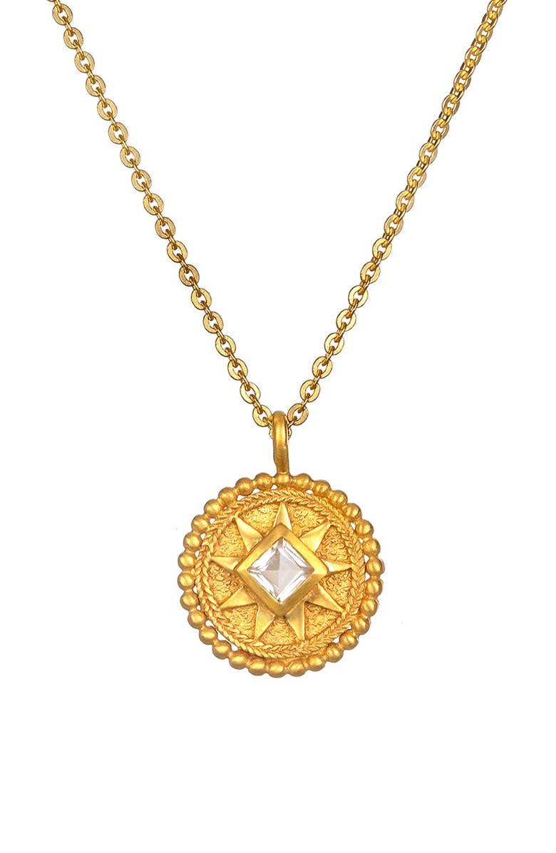 'Mandala' Birthstone Pendant Necklace