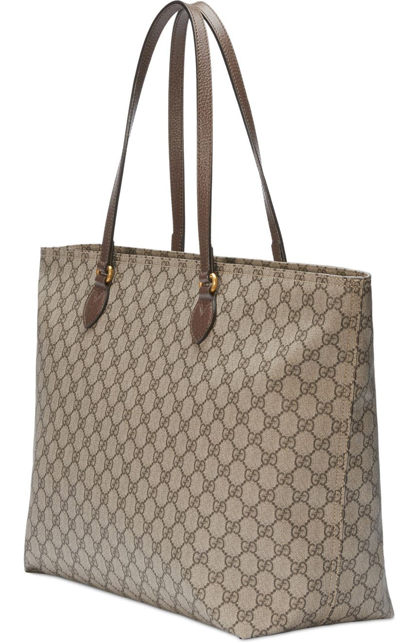 51dddc636deca6 Gucci Medium Ophidia Soft GG Supreme Canvas Tote | Nordstrom