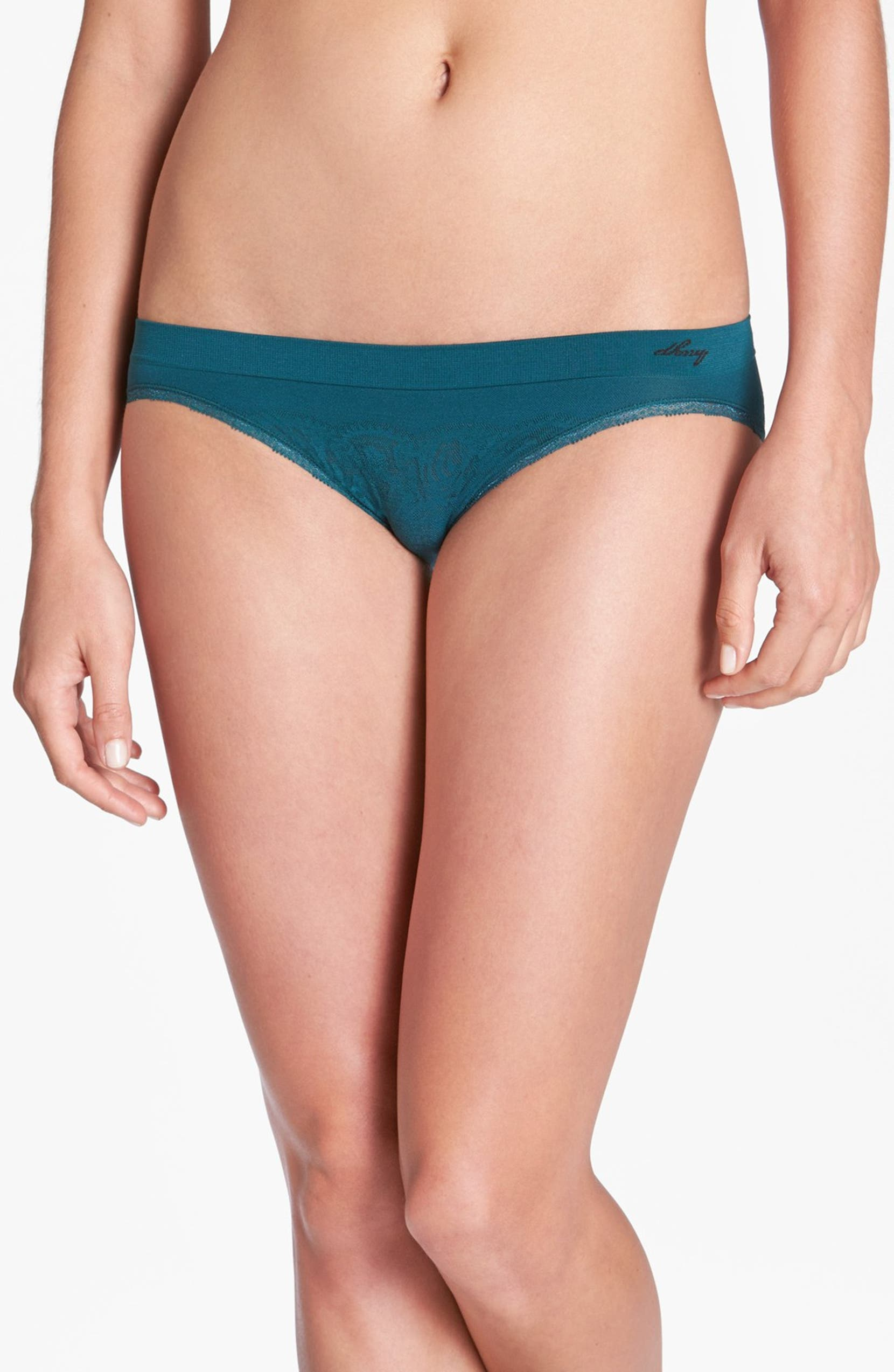 bfd7b77c6528 DKNY 'Fusion Lace' Seamless Bikini | Nordstrom