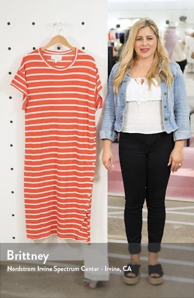 The Button Side Midi T-Shirt Dress, sales video thumbnail