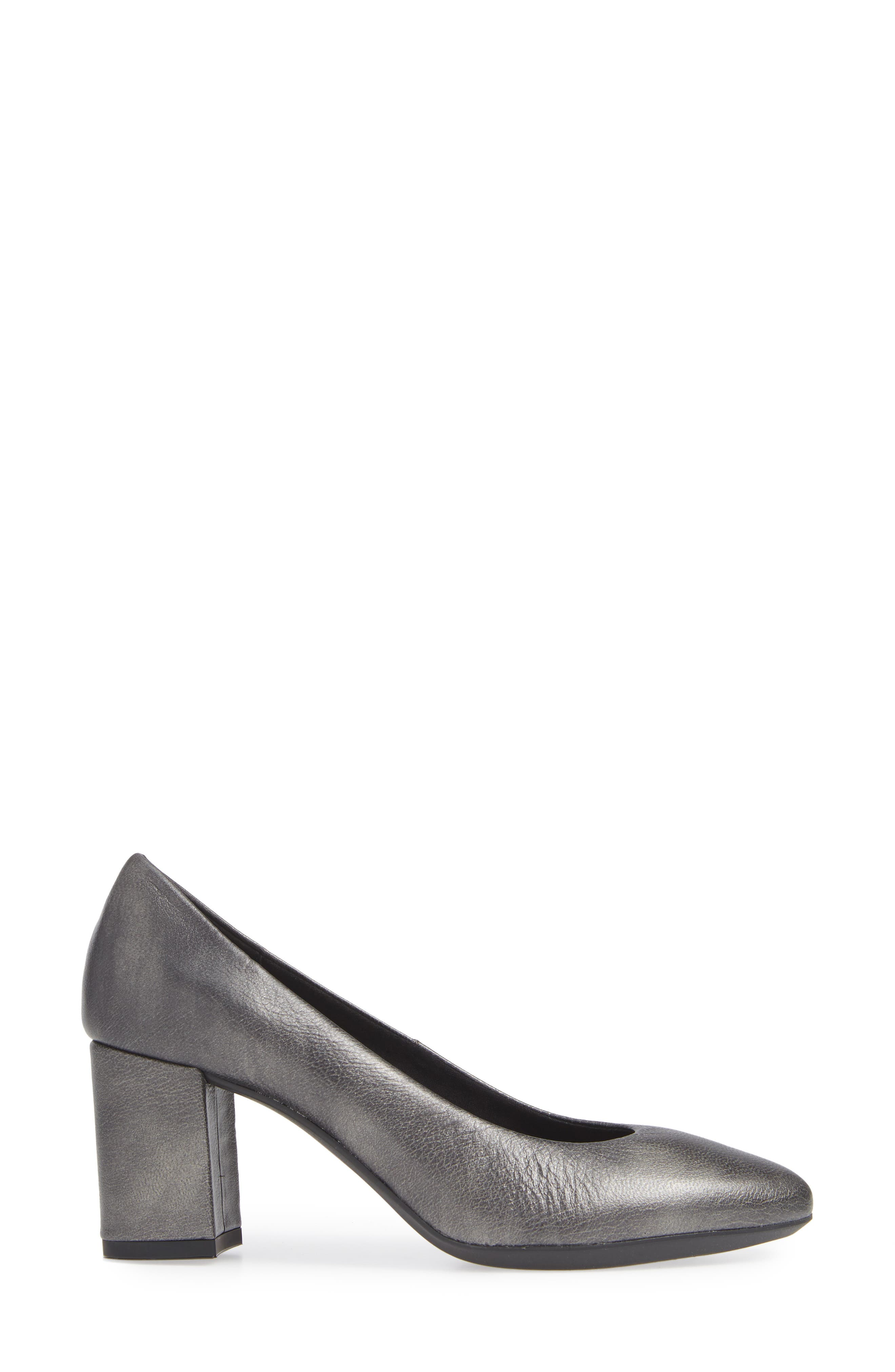 ,                             Seriously Pump,                             Alternate thumbnail 3, color,                             GREY LEATHER