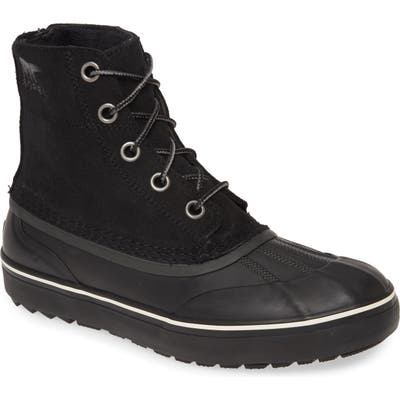 Sorel Cheyanne Metro Waterproof Duck Boot- Black