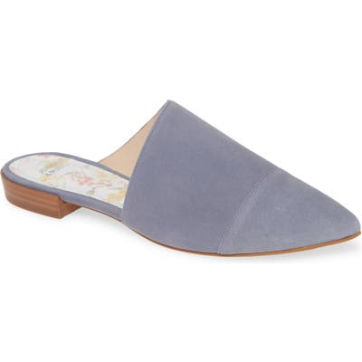Johnston & Murphy Addie Mule- Blue