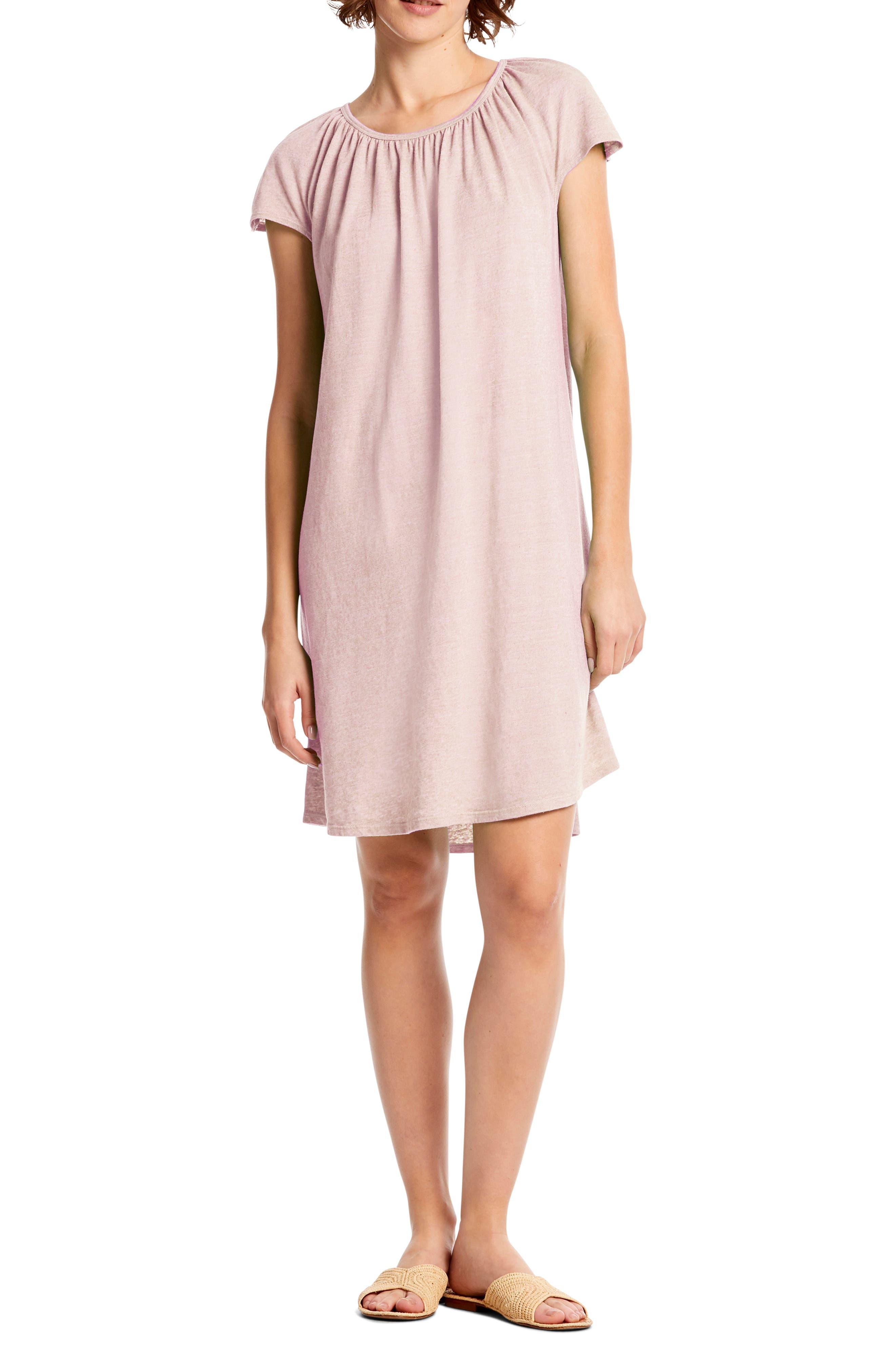 Michael Stars Hannah Shift Dress, Pink