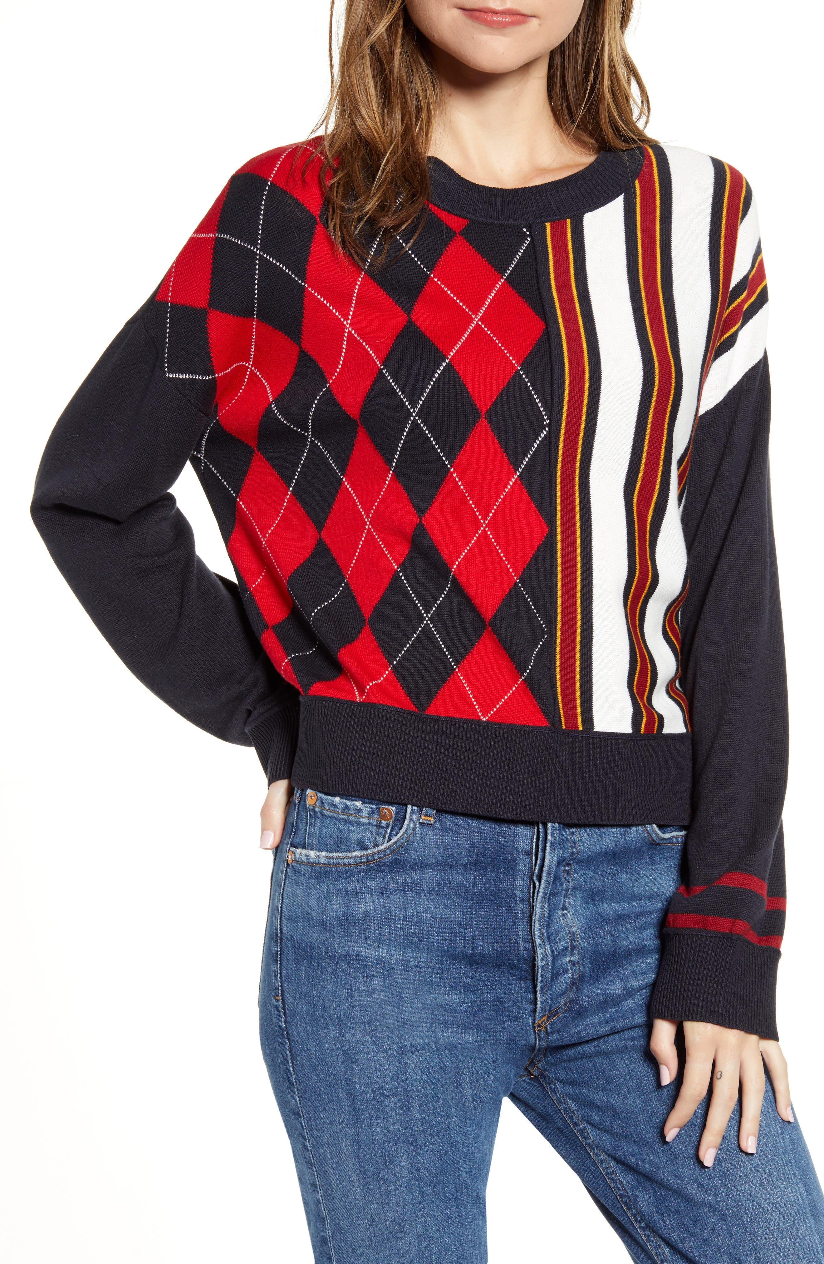 Tommy Hilfiger Sweaters Argyle & Stripe Sweater
