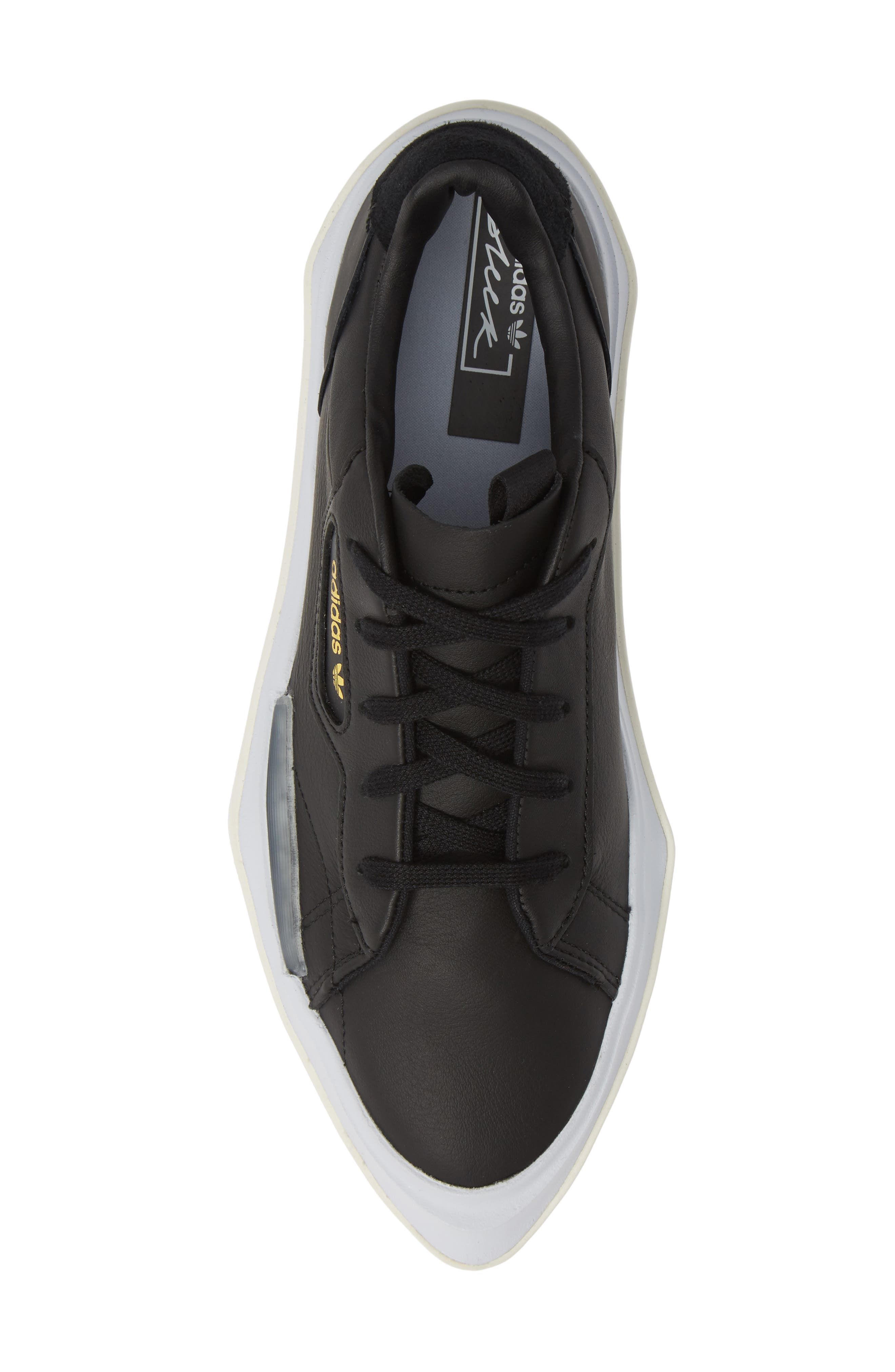 ,                             Hypersleek Platform Sneaker,                             Alternate thumbnail 5, color,                             CORE BLACK/ AERO BLUE