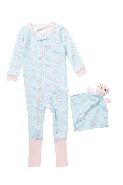 Image of CLOUD NINE Coverall Pajamas & Blankey