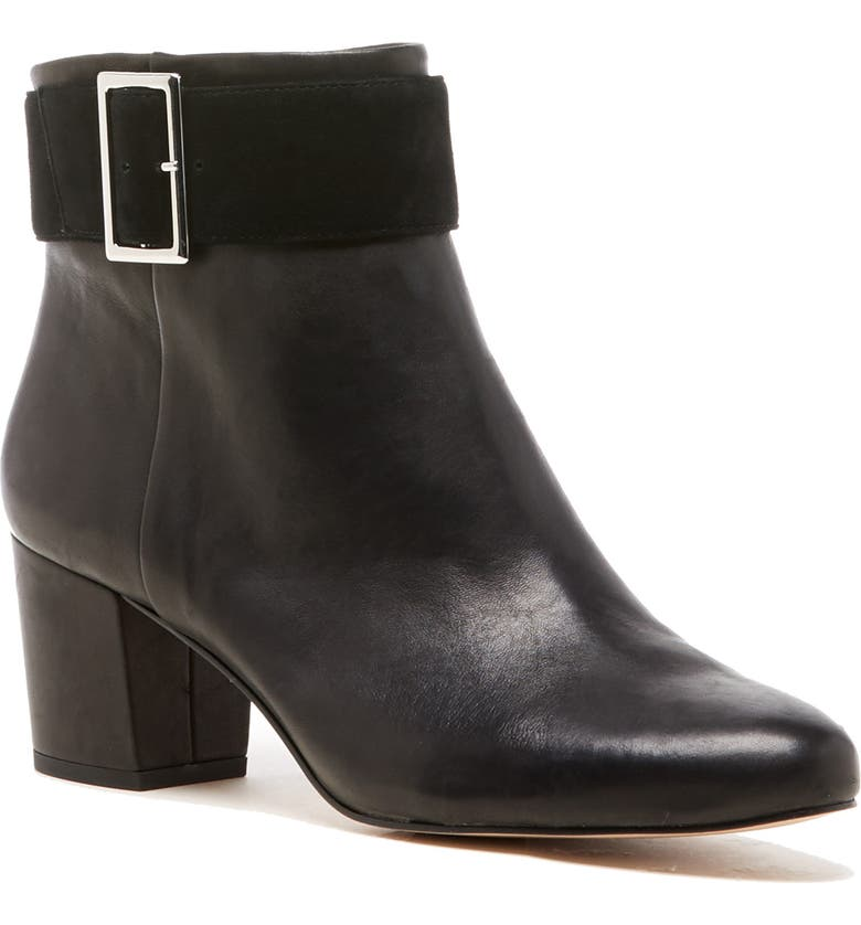SOLE SOCIETY Palan Bootie, Main, color, BLACK SUEDE