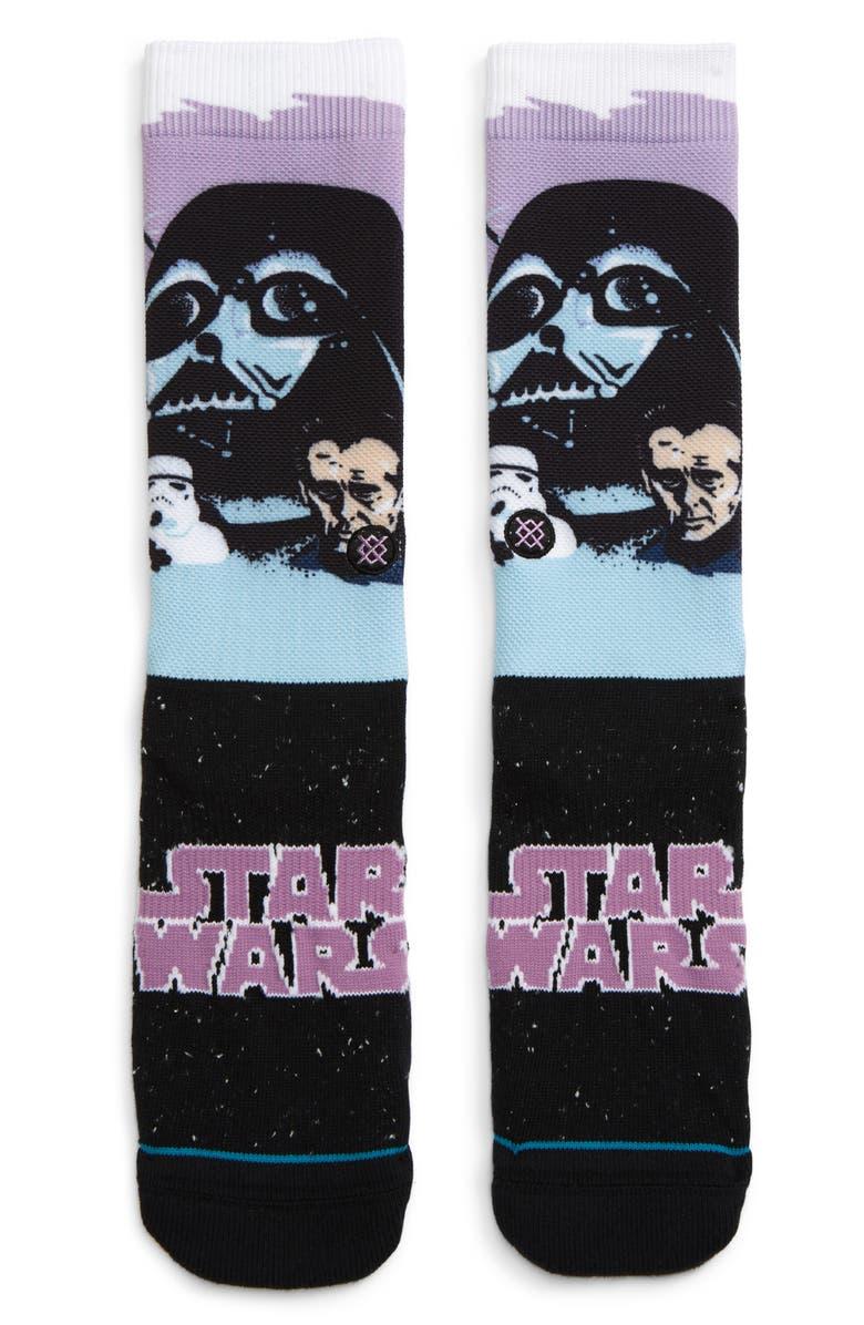 STANCE Darth Vader Socks, Main, color, 510