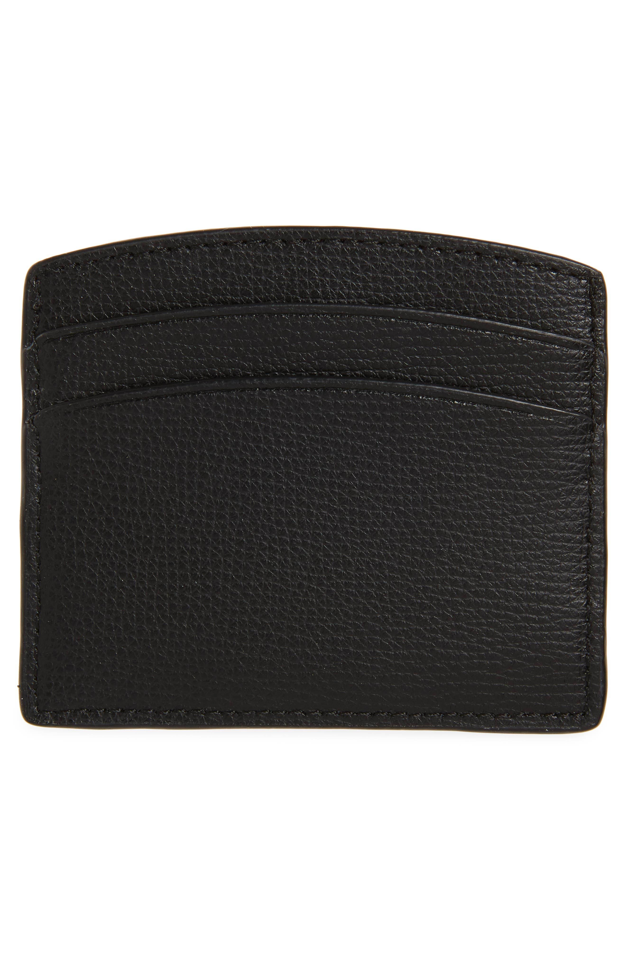 ,                             sylvia card case,                             Alternate thumbnail 2, color,                             BLACK