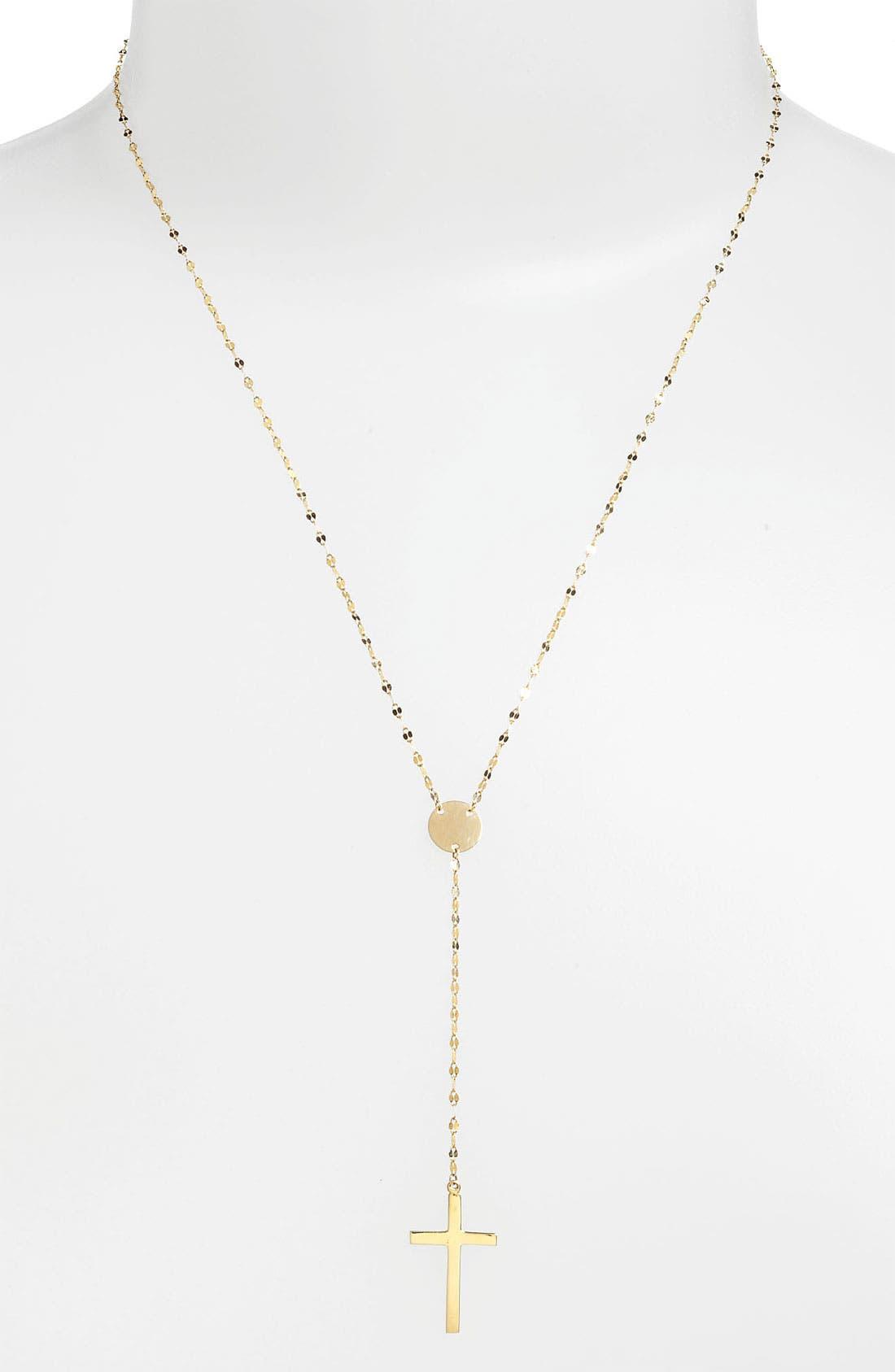 Crossary Y-Necklace
