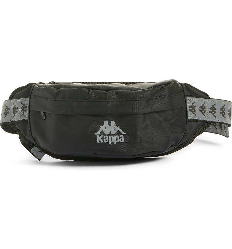 KAPPA Banda Danky Belt Bag, Main, color, 001