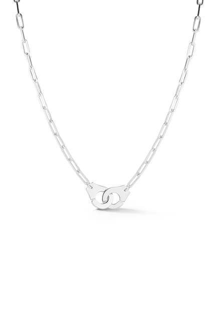 Image of Sphera Milano Sterling Silver Hand Cuff Necklace