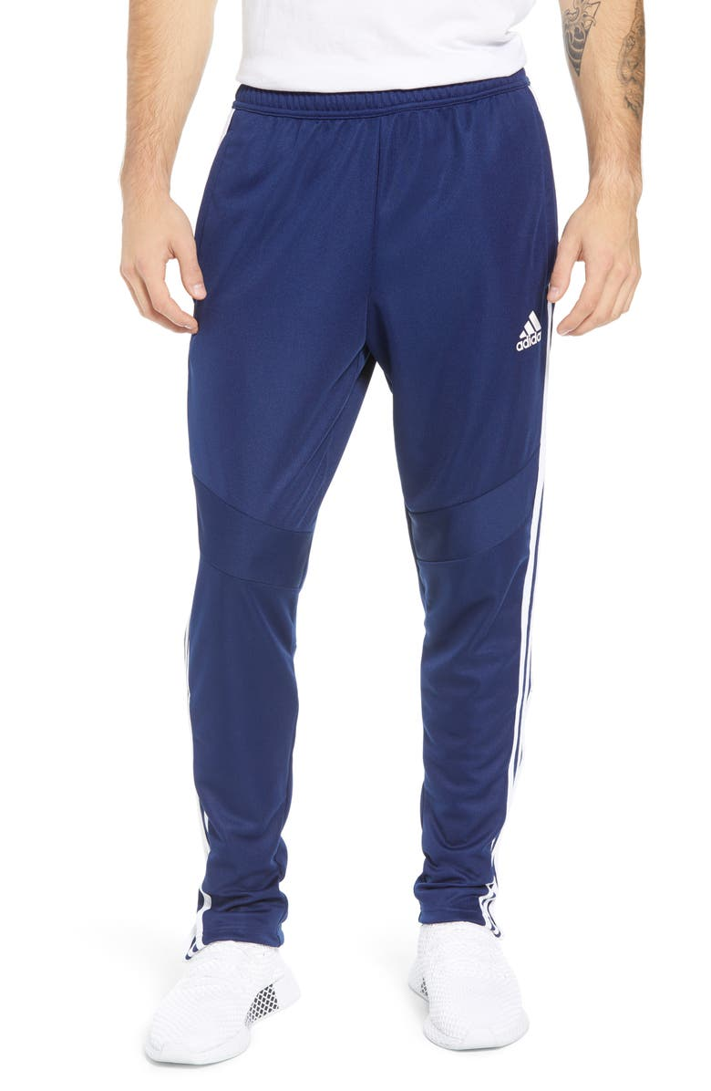 ADIDAS Tiro Soccer Training Pants, Main, color, DARK BLUE/ WHITE