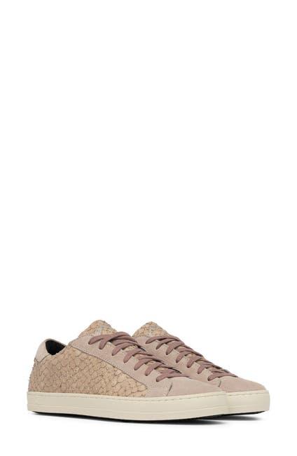 Image of P448 John Snake Embossed Sneaker