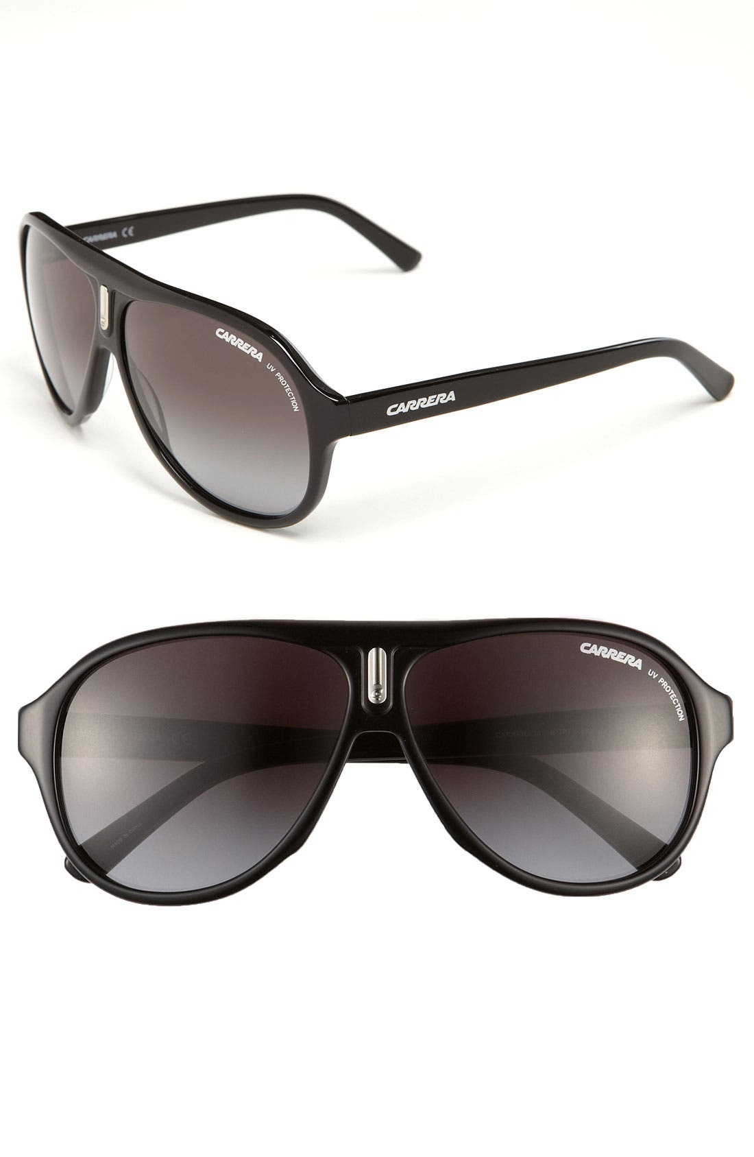 59mm Aviator Sunglasses, Main, color, 001