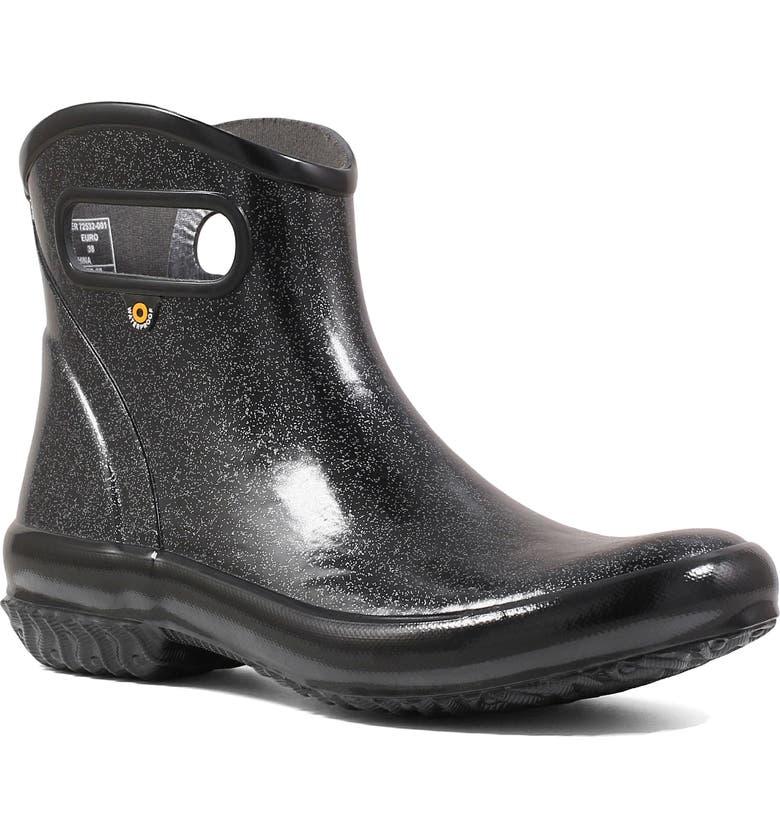 BOGS Glitter Waterproof Rain Boot, Main, color, 001