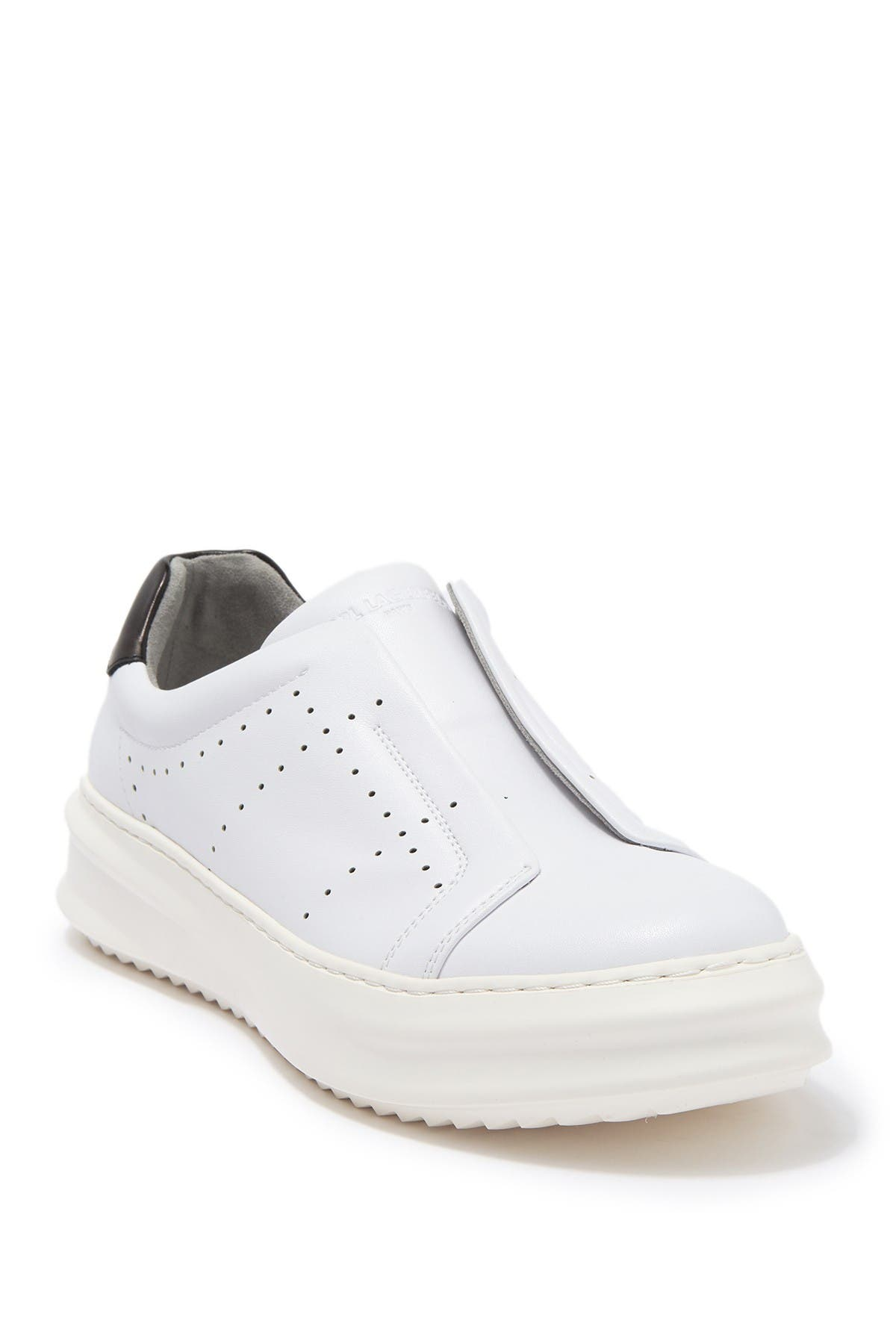 Image of Karl Lagerfeld Paris Laceless Side Perforated Sneaker