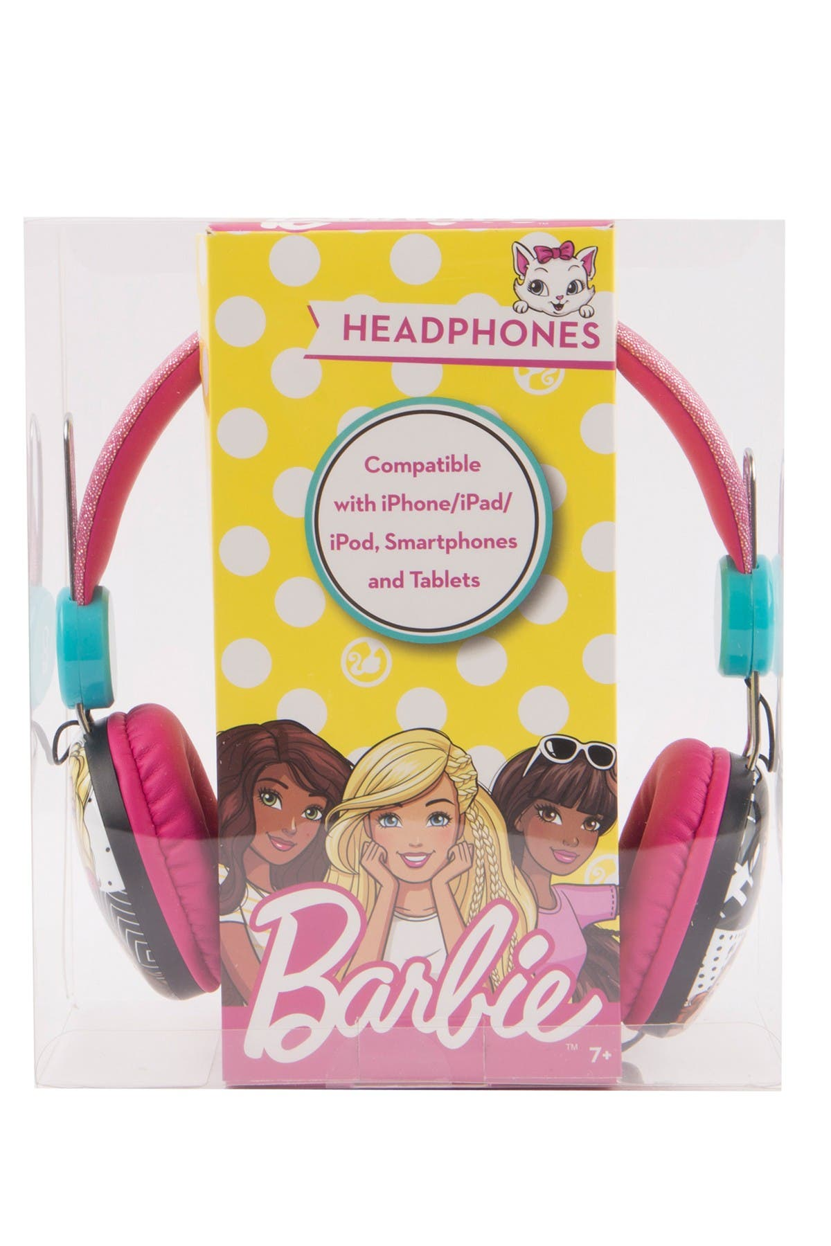 Image of VIVITAR Barbie Kids Safe Headphones