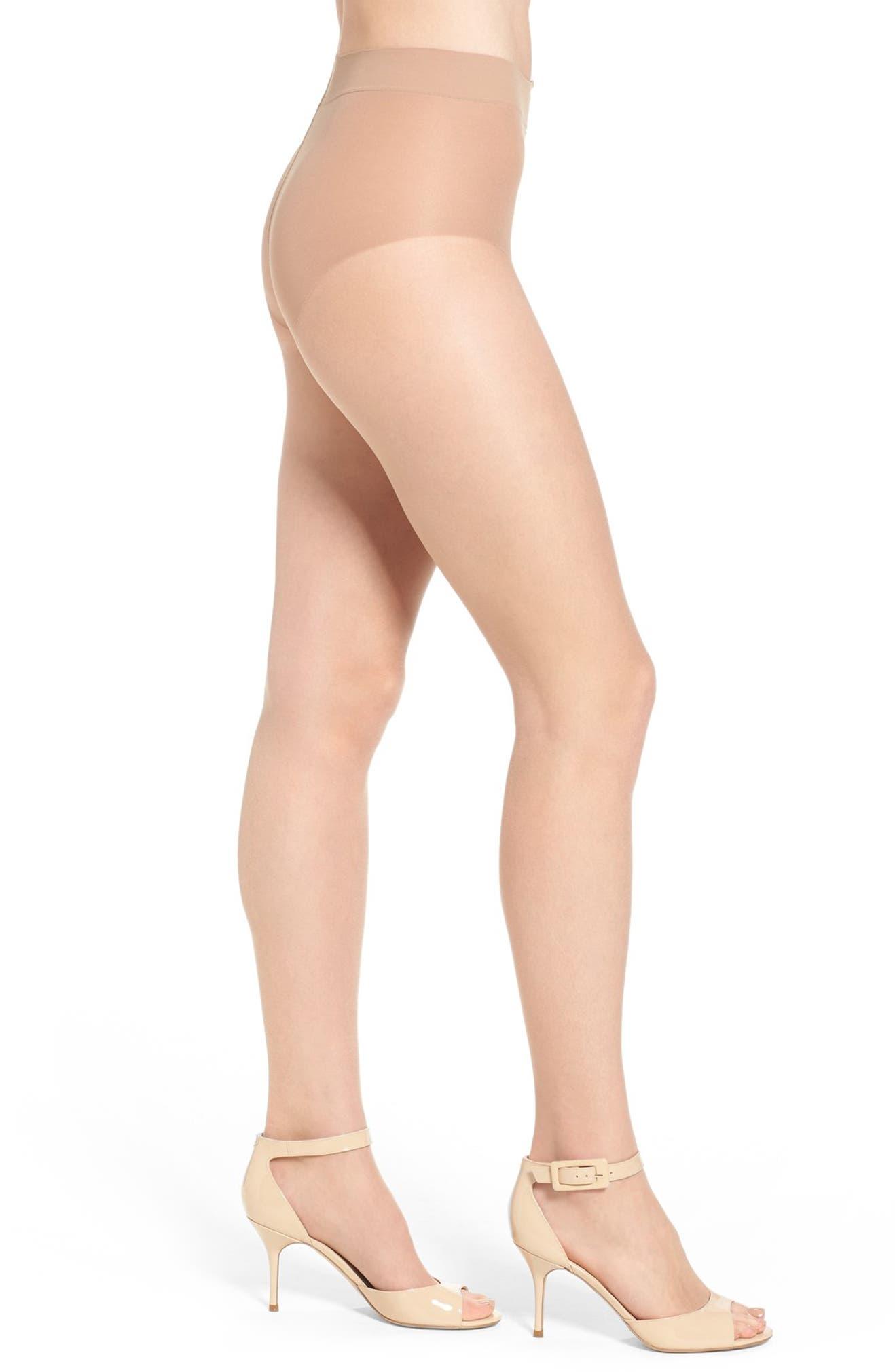 b3a50762b Donna Karan The Nudes Toeless Pantyhose