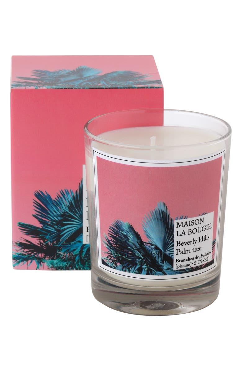 MAISON LA BOUGIE Beverly Hills Palm Tree Candle, Main, color, NO COLOR