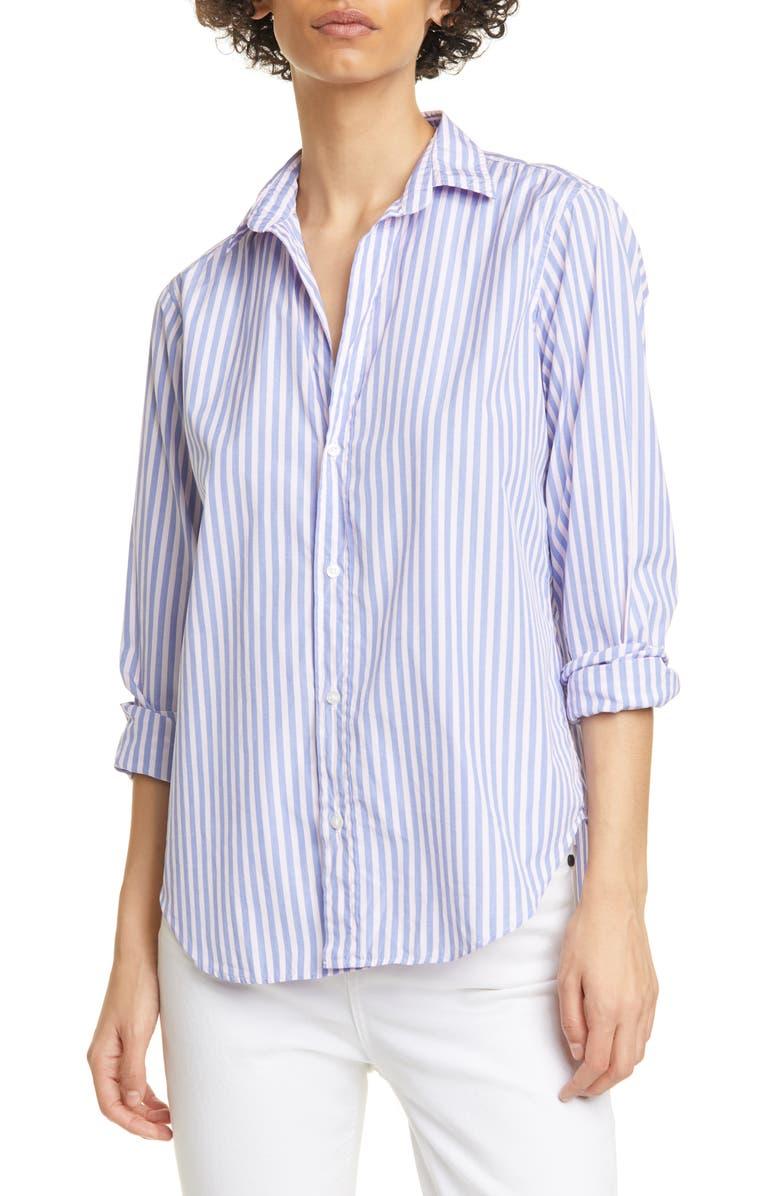 FRANK & EILEEN Stripe Button-Up Shirt, Main, color, MENS BLUE/ PINK STRIPE