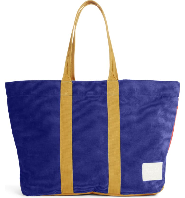 HERSCHEL SUPPLY CO. Skaha Tote, Main, color, BLUE/ RED/ GOLD